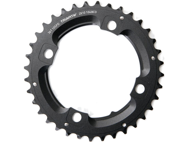 SRAM MTB Chainring 2x10-speed without pin, matte black
